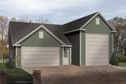 Traditional Style House Plan - 0 Beds 0 Baths 1494 Sq/Ft Plan #22-431