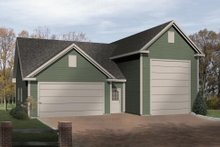 Dream House Plan - Traditional Exterior - Front Elevation Plan #22-431