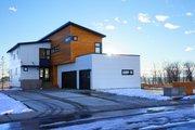 Modern Style House Plan - 3 Beds 2.5 Baths 2777 Sq/Ft Plan #909-1