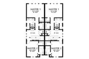 Contemporary Style House Plan - 3 Beds 3 Baths 3834 Sq/Ft Plan #48-1021 Floor Plan - Upper Floor