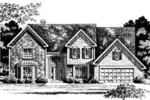 Traditional Exterior - Front Elevation Plan #328-118