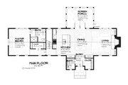 Farmhouse Style House Plan - 3 Beds 2.5 Baths 2208 Sq/Ft Plan #901-8 Floor Plan - Main Floor