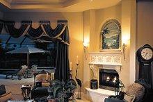 Mediterranean Interior - Family Room Plan #930-291