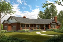 House Plan Design - Ranch Exterior - Front Elevation Plan #124-188