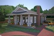 Craftsman Style House Plan - 3 Beds 2 Baths 1176 Sq/Ft Plan #550-1 Photo