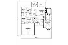 Traditional Floor Plan - Main Floor Plan Plan #20-2186