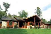Contemporary Style House Plan - 3 Beds 3 Baths 2352 Sq/Ft Plan #312-489 Exterior - Front Elevation