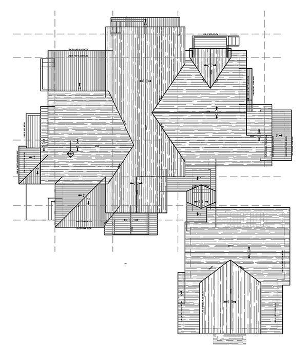 Craftsman Floor Plan - Other Floor Plan Plan #899-3