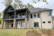 House Plan Design - Craftsman Exterior - Rear Elevation Plan #437-124