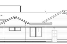 Home Plan - Craftsman Exterior - Other Elevation Plan #895-123