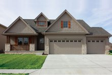 House Plan Design - Craftsman Exterior - Front Elevation Plan #20-2254