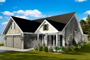 Cottage Style House Plan - 3 Beds 2 Baths 1725 Sq/Ft Plan #406-9660