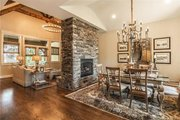 Craftsman Style House Plan - 4 Beds 3.5 Baths 2482 Sq/Ft Plan #120-184 Interior - Dining Room