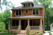 Craftsman Style House Plan - 4 Beds 3.5 Baths 2520 Sq/Ft Plan #461-2 Exterior - Front Elevation