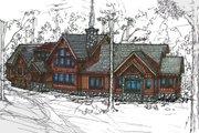 Craftsman Style House Plan - 3 Beds 3.5 Baths 2842 Sq/Ft Plan #921-1