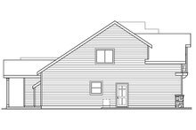 Craftsman Exterior - Other Elevation Plan #124-676