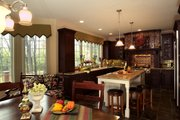 European Style House Plan - 4 Beds 3.5 Baths 4435 Sq/Ft Plan #20-2301 Interior - Kitchen