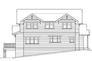 Craftsman Style House Plan - 4 Beds 3.5 Baths 2760 Sq/Ft Plan #434-5 Exterior - Rear Elevation