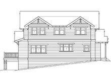 Home Plan - Craftsman Exterior - Rear Elevation Plan #434-5