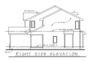 Traditional Style House Plan - 3 Beds 3 Baths 1440 Sq/Ft Plan #20-1664 Exterior - Other Elevation