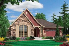 Home Plan - Cottage Exterior - Front Elevation Plan #48-278