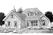 Traditional Style House Plan - 3 Beds 2 Baths 1734 Sq/Ft Plan #20-1360