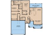 Traditional Style House Plan - 3 Beds 2 Baths 1493 Sq/Ft Plan #923-147 Floor Plan - Main Floor