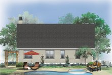 Dream House Plan - Country Exterior - Rear Elevation Plan #929-566