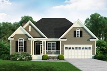 House Plan Design - Ranch Exterior - Front Elevation Plan #929-585