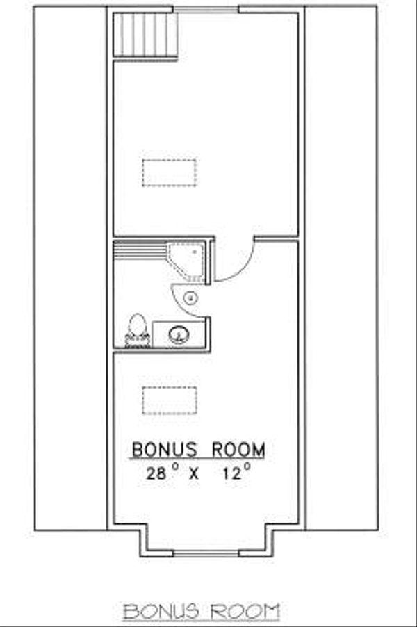 Bungalow Floor Plan - Other Floor Plan Plan #117-569