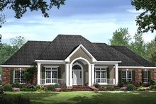 Dream House Plan - Traditional Exterior - Front Elevation Plan #21-286