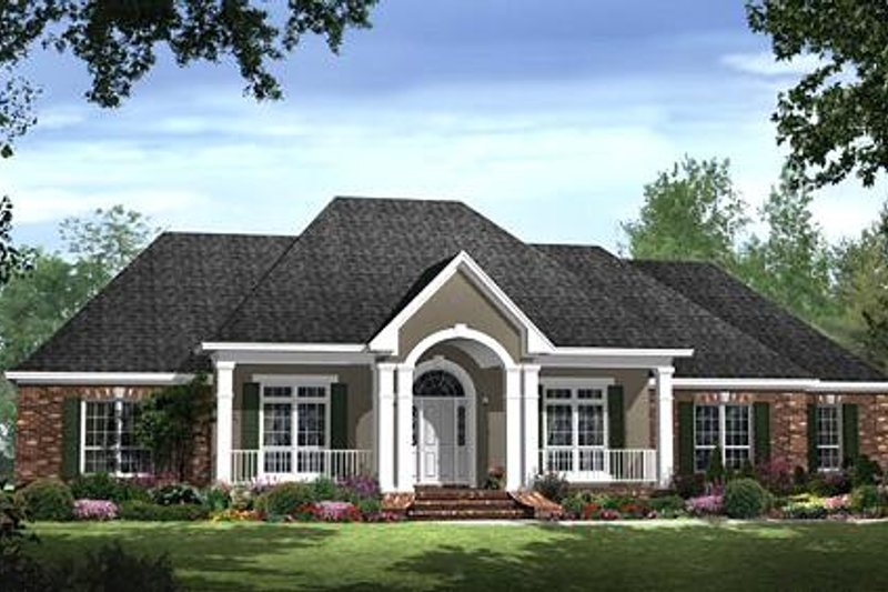 Traditional Exterior - Front Elevation Plan #21-286