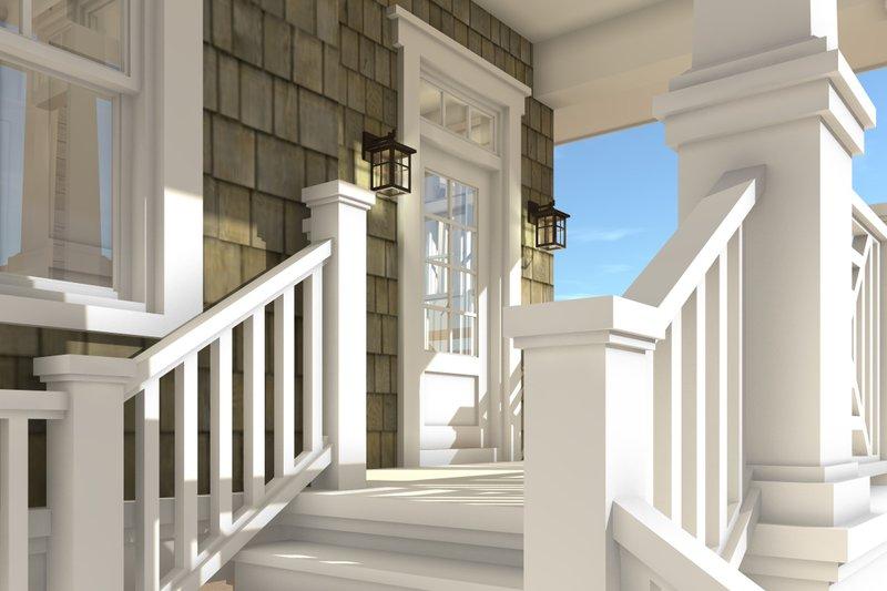 Beach Exterior - Other Elevation Plan #64-238 - Houseplans.com