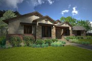 Ranch Style House Plan - 3 Beds 3 Baths 2352 Sq/Ft Plan #120-194 Exterior - Front Elevation