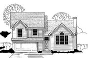 Traditional Style House Plan - 3 Beds 2 Baths 1328 Sq/Ft Plan #67-113