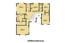 Contemporary Floor Plan - Upper Floor Plan Plan #1066-49