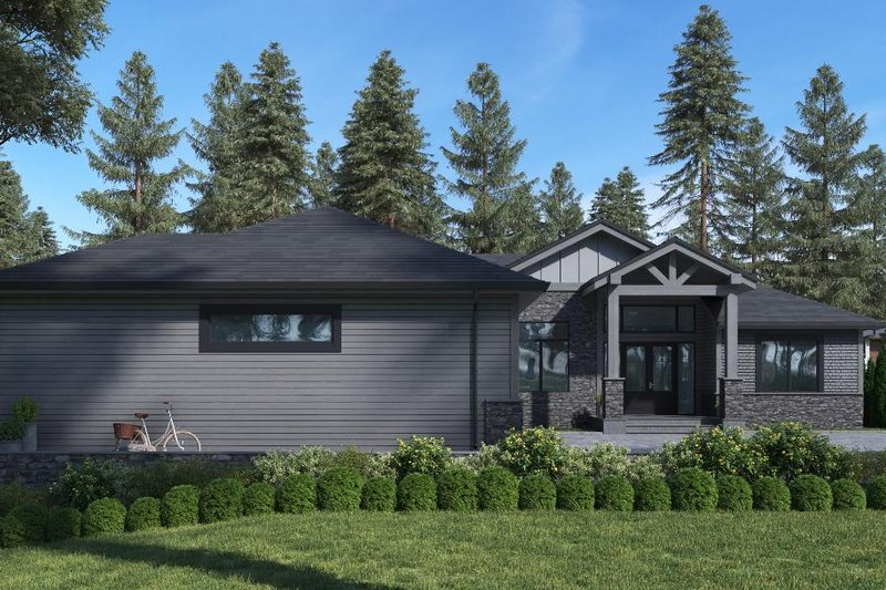 Home Plan - Traditional Exterior - Front Elevation Plan #1066-85