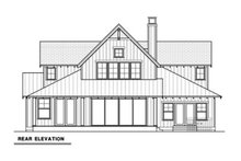 Farmhouse Exterior - Rear Elevation Plan #1070-3