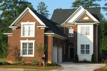 Dream House Plan - Traditional Exterior - Front Elevation Plan #1054-74