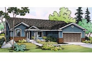 House Design - Ranch Exterior - Front Elevation Plan #124-379