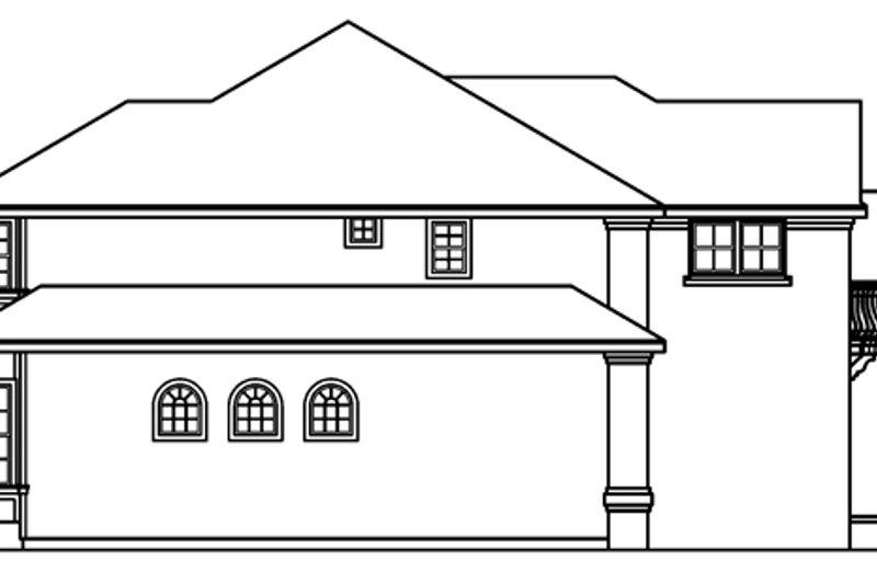 European Exterior - Other Elevation Plan #124-500 - Houseplans.com