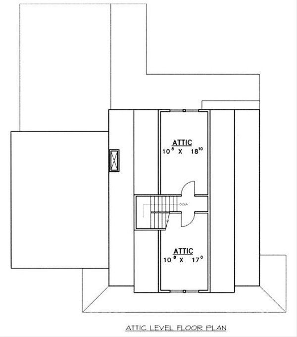 Country Floor Plan - Other Floor Plan Plan #117-536
