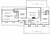 Southern Style House Plan - 3 Beds 2.5 Baths 2038 Sq/Ft Plan #137-123 Floor Plan - Upper Floor