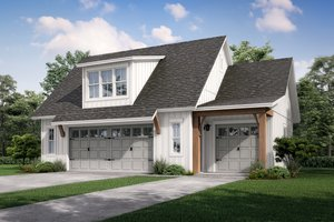 Farmhouse Exterior - Front Elevation Plan #430-236