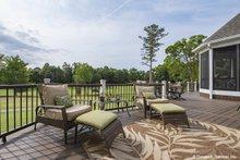 Architectural House Design - Craftsman Exterior - Outdoor Living Plan #929-988