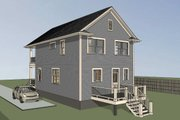 Southern Style House Plan - 3 Beds 2.5 Baths 1435 Sq/Ft Plan #79-199 Exterior - Front Elevation