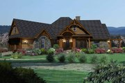 Craftsman Style House Plan - 3 Beds 2.5 Baths 2091 Sq/Ft Plan #120-162 Exterior - Front Elevation