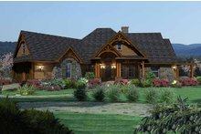 Craftsman Exterior - Front Elevation Plan #120-162