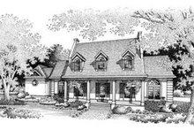 Home Plan Design - Southern Exterior - Front Elevation Plan #45-207
