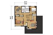 Contemporary Style House Plan - 4 Beds 1 Baths 1931 Sq/Ft Plan #25-4574 Floor Plan - Upper Floor Plan